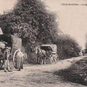 Vieils-Maisons (Aisne) CPA Mont-Cel-Enger