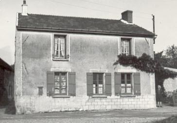 Vieils-Maisons (Aisne) Le Montcel-Enger maison Soudan en 1948