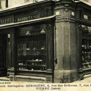Vienne (Isère) La bijouterie CPA