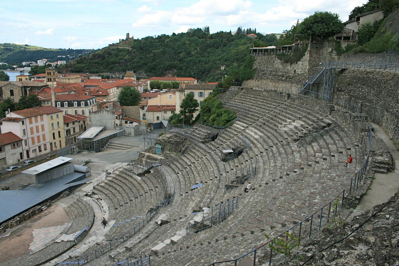 Vienne (Isère) Le théâtre antique