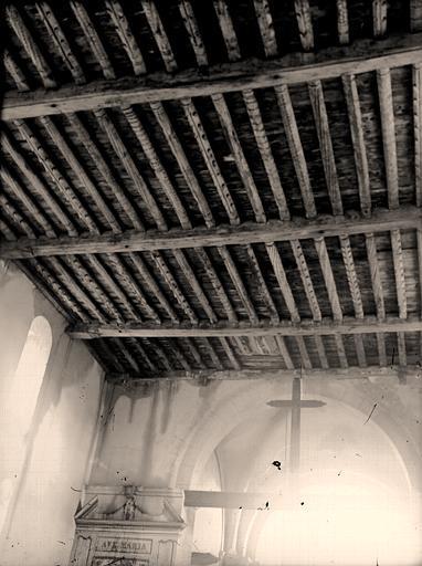 Viffort (Aisne) Plafond de l'église