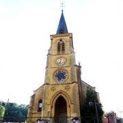 Vigneul-sous-Montmédy (Meuse) L'église Saint Pierre