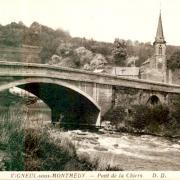 Vigneul-sous-Montmédy (Meuse) Le pont CPA