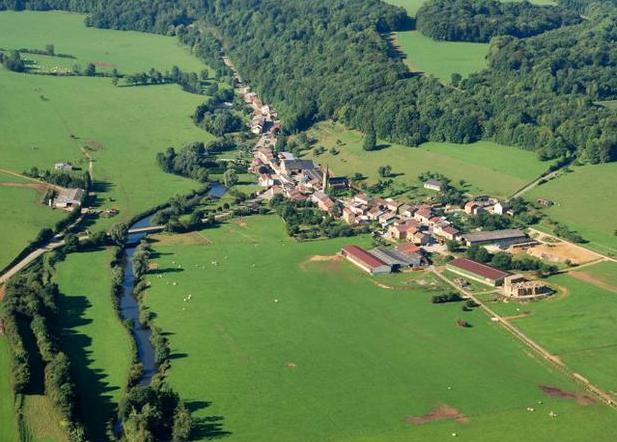 Vigneul-sous-Montmédy (Meuse) Vue générale