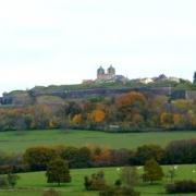 Vigneul-sous-Montmédy (Meuse) Vue sur la citadelle de Montmédy