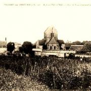 Villers-en-Prayères (Aisne) CPA l'église Saint-Médard
