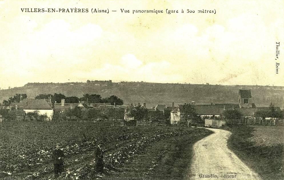 Villers-en-Prayères (Aisne) CPA