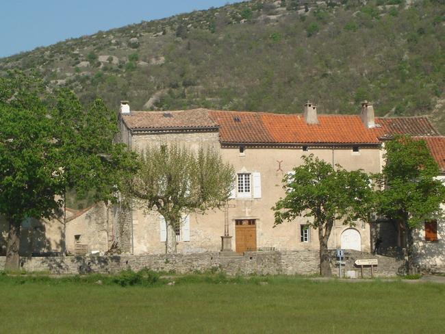 Vissec (Gard) Le château