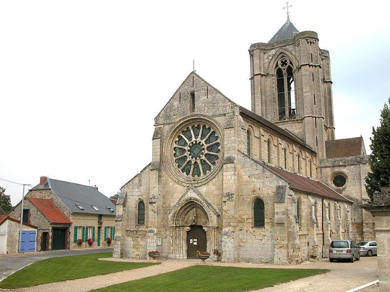 Vorges (Aisne) Eglise Saint Jean Baptiste en 2006
