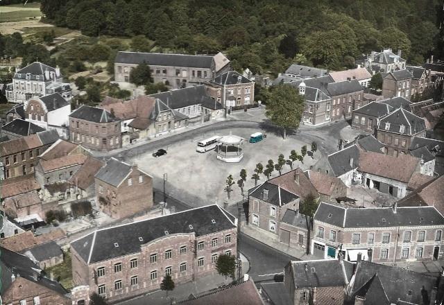 Walincourt selvigny 59 la place cpa