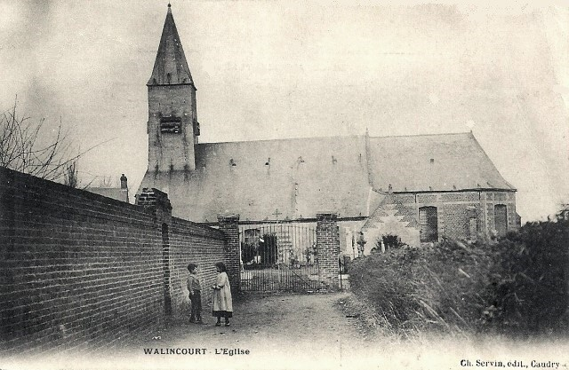 Walincourt selvigny 59 walincourt l eglise cpa