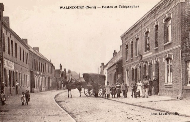 Walincourt selvigny 59 walincourt la poste cpa