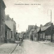 Walincourt selvigny 59 walincourt la rue de la gare cpa