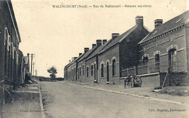 Walincourt selvigny 59 walincourt la rue de malincourt cpa