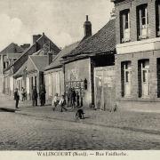 Walincourt selvigny 59 walincourt la rue faidherbe cpa