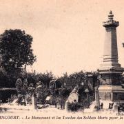 Walincourt selvigny 59 walincourt le monument aux morts cpa