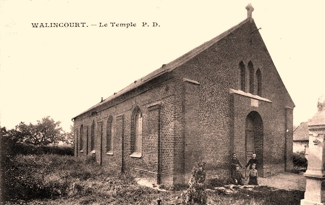 Walincourt selvigny 59 walincourt le temple cpa