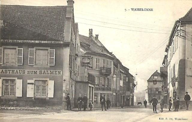 Wasselonne 67 cpa