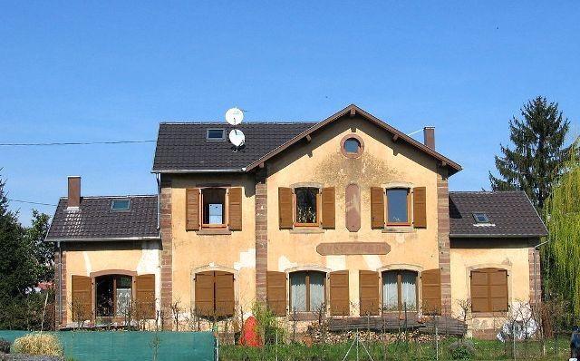 Wasselonne 67 l ancienne gare