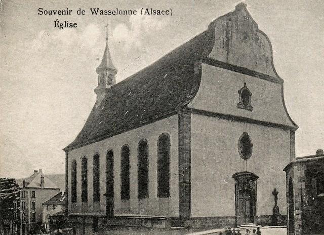 Wasselonne 67 l eglise catholique saint jean bosco cpa
