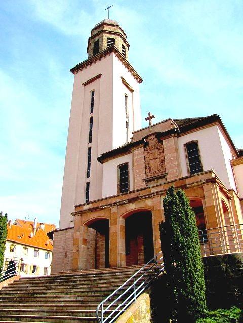 Wasselonne 67 l eglise catholique saint jean bosco