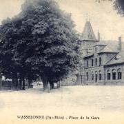 Wasselonne 67 la gare cpa
