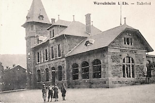 Wasselonne 67 la gare