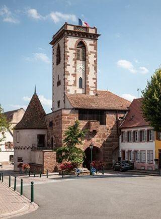 Wasselonne 67 la tour carree du chateau