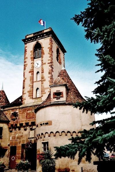Wasselonne 67 la tour du chateau