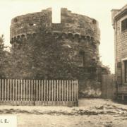Wasselonne 67 la tour ronde du chateau cpa
