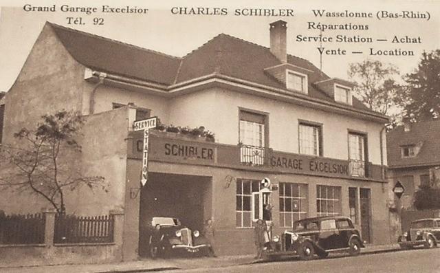 Wasselonne 67 le garage excelsior cpa