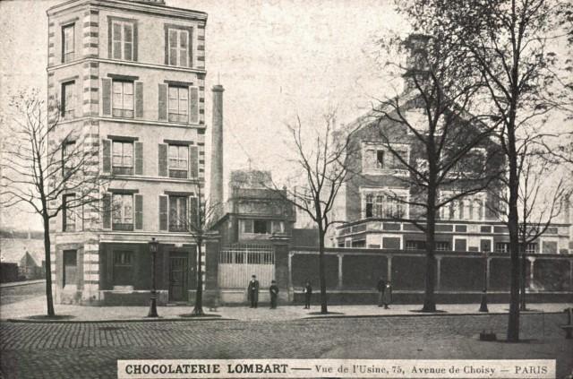 1 paris 75 13eme avenue de choisy la chocolaterie cpa