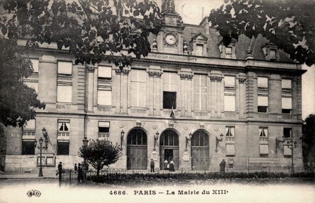 18 paris 75 13eme la mairie