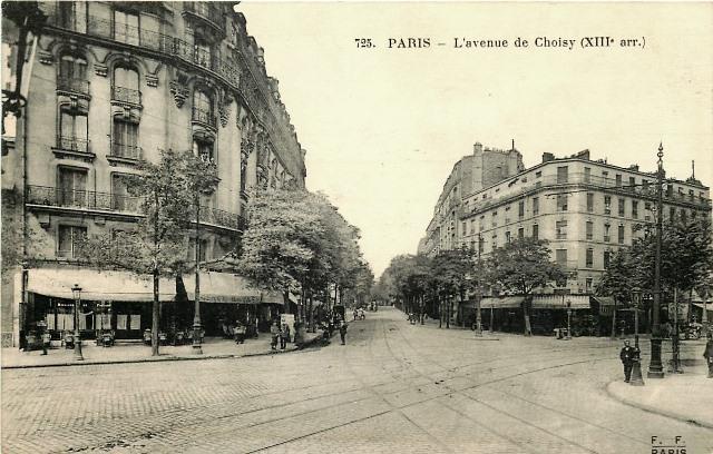 20 paris 75 13eme avenue de choisy cpa