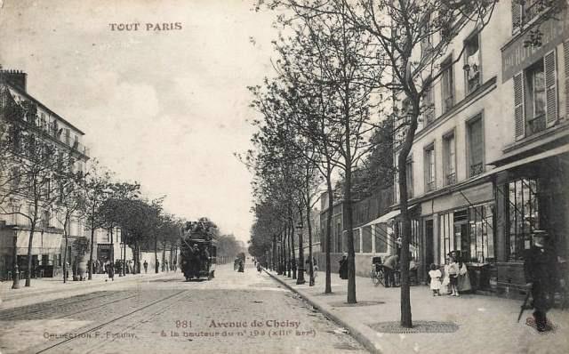 21 paris 75 13eme avenue de choisy cpa