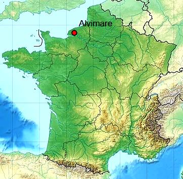 Alvimare seine maritime geo