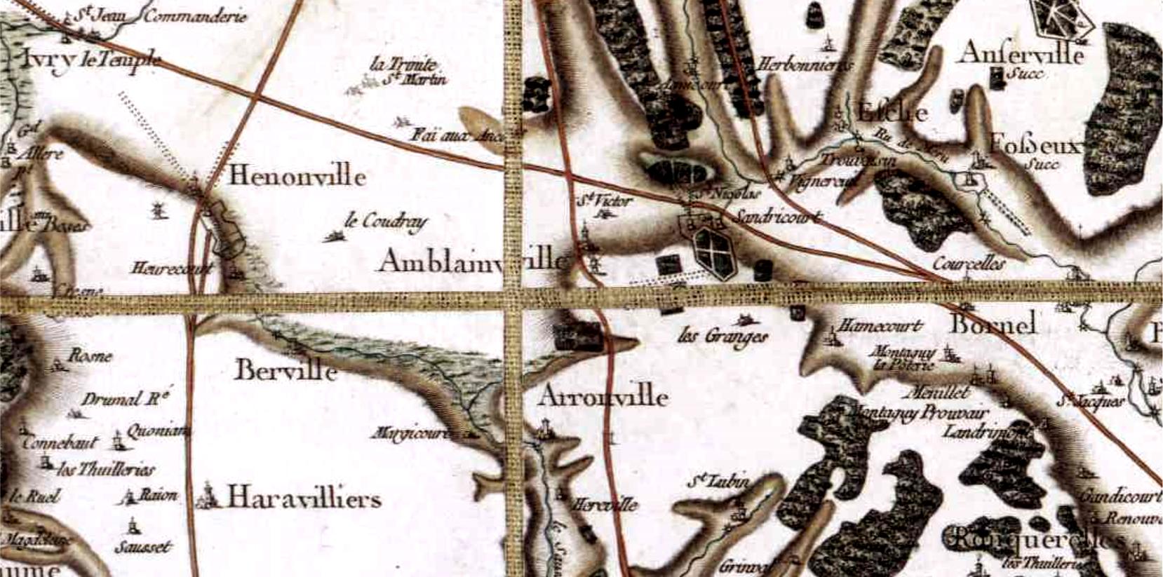 Amblainville 60 cassini