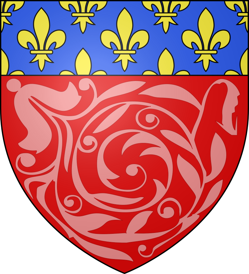 Amiens somme blason xv xviie