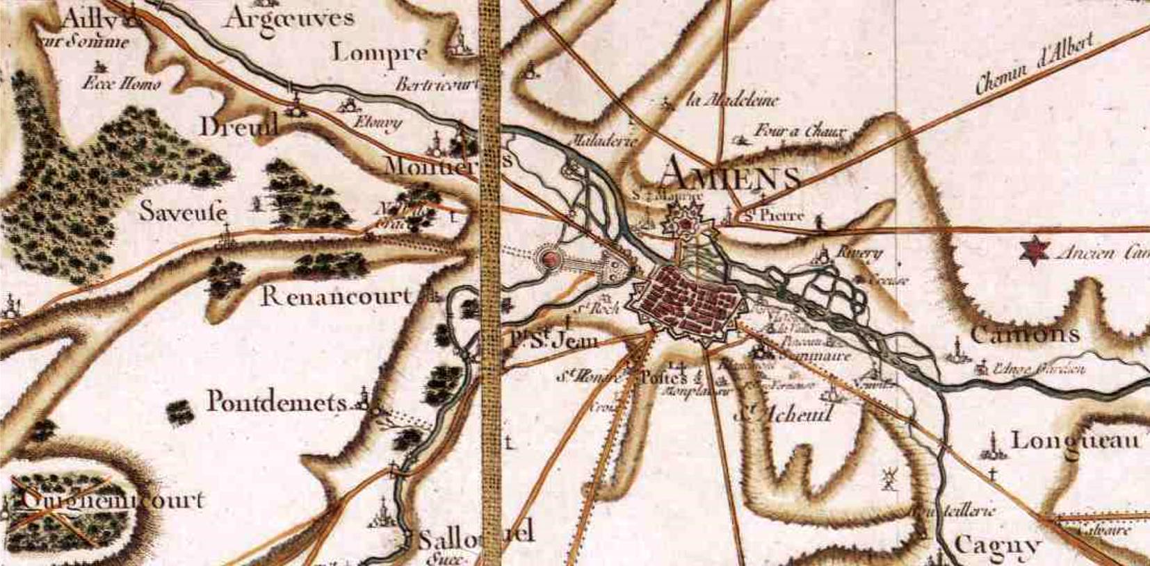 Amiens somme cassini