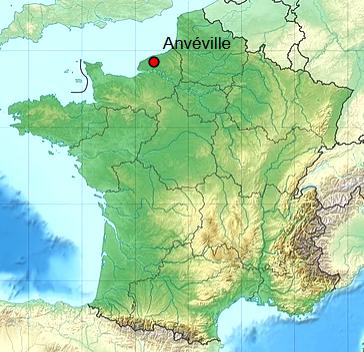 Anveville seine maritime geo