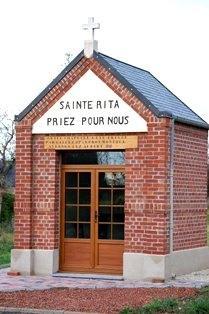 Avesnes les aubert 59 la chapelle sainte rita