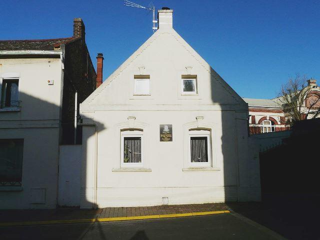 Avesnes les aubert 59 la maison natale de raymond gernez