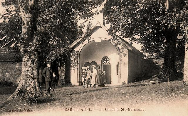 Bar sur aube 10 la chapelle sainte germaine cpa2