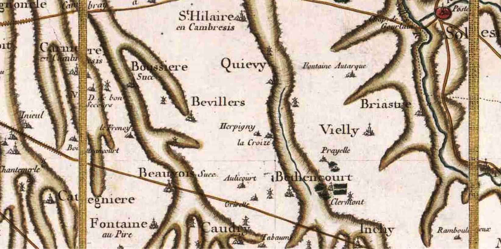 Bevillers 59 cassini
