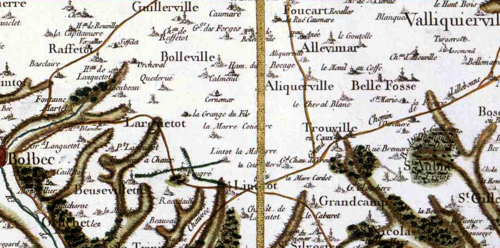 Bolleville seine maritime cassini