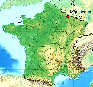 Martincourt-sur-Meuse (55) géo