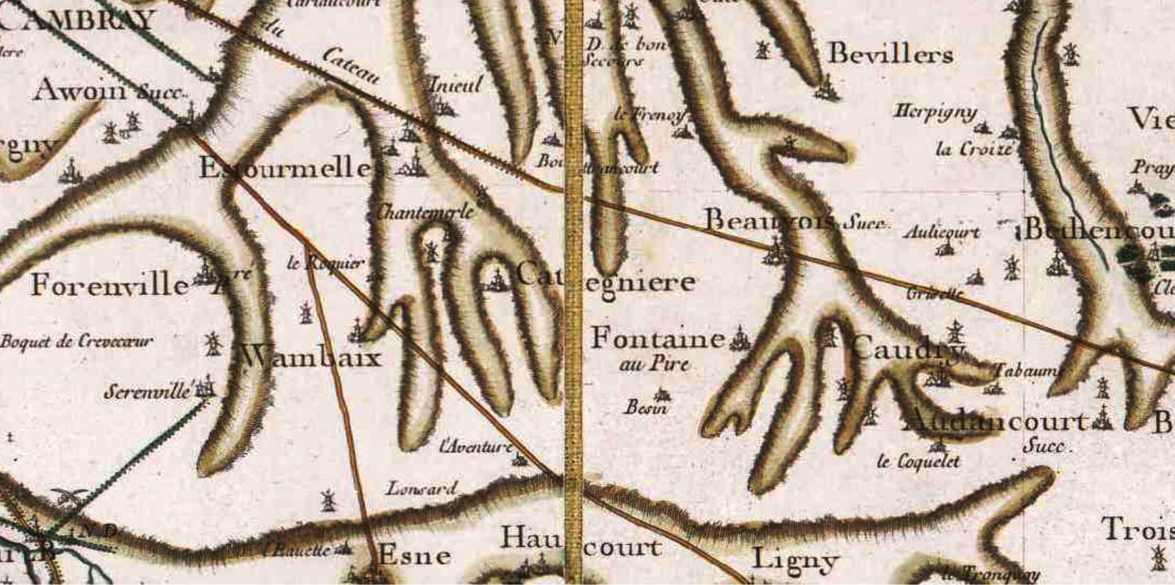 Cattenieres 59 cassini