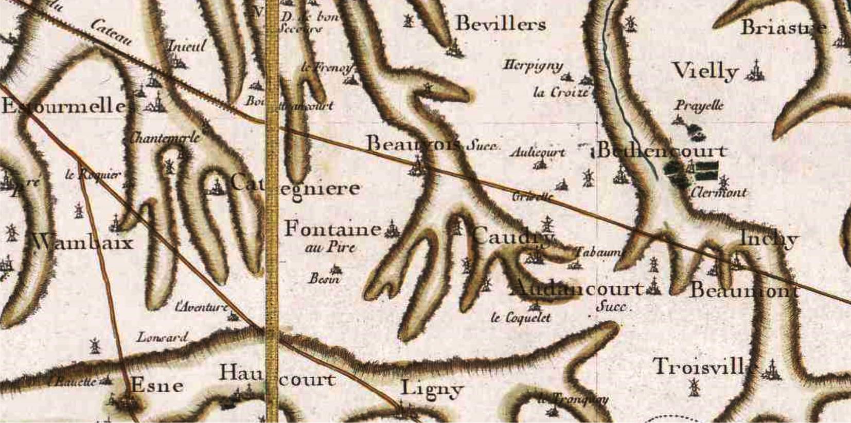Caudry 59 cassini