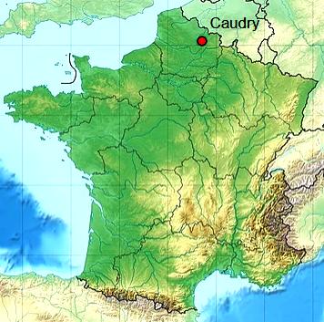 Caudry 59 geo