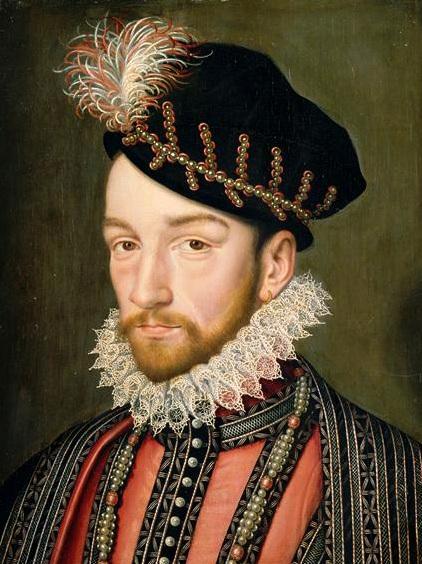 Charles ix 1550 1574
